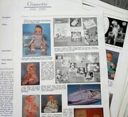 22p History Article + Id Pics - Vtg 1950-60s Vogue Ginnette Baby Dolls