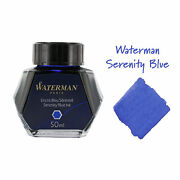Waterman Calligraphy Fountain Pen Ink Bottle 50ml Bottle Choice Of Color