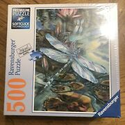 Ravensburger 500 Piece Softclick Premium Puzzle Dragonfly No.81 521 New Sealed