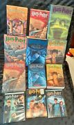Harry Potter Lot Of 12 All First Edition Books Dvds Jk Rowling