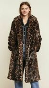 Nili Lotan - Sold-out 1,695 Leopard Faux Fur Marvin Coat Forever-chic Xs
