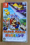 Paper Mario The Origami King Nintendo Switch Japan Ver F/s