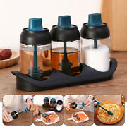 Gadgets Spoon Cap Spice Jar Seasoning Bottle Spice Container Integrated Brush