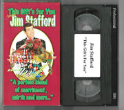 Jim Stafford - This Gift's For You Vhs Christmas Video Vcr Kids Childrens Tape