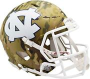 North Carolina Tar Heels Riddell Camo Alternate Speed Authentic Helmet