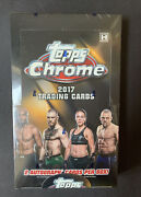 2017 Topps Chrome Ufc Hobby Box Factory Sealed 1st Year Conor Mcgregor 2 Auto