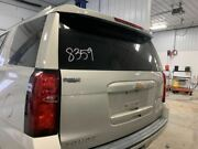 No Shipping Trunk/hatch/tailgate Privacy Tint Glass Fits 15-18 Suburban 1500 6