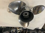 Yamaha Propeller 350hp V8 Saltwater Series Xl 16 1/4 X 17 Used / Good Condition
