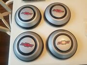 1968 Chevy And039nosand039 Hubcaps Truck Pickup 3/4 Ton 67 68 C20 Chevrolet Dog Dish