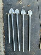 4 Sailboat Stanchions Ericson 26and039. For Life Lines. 24 1 Stainless Steel Pipe