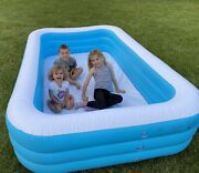 Children Adult Inflatable Pools Family Swimming Pool Home Outdoor Indoor