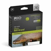 Rio Fly Fishing Fly Line Intouch-grand Wf6f, Green-gray-yellow