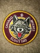 Boy Scout Bsa Type 3 Chicago Wolves Illinois Ice Hockey Council Sport Patch