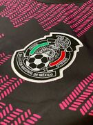 New Adidas Fan Version 2021-2022 Mexico Home Jersey - Black-real Magenta