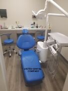 New Dental Chair Unit Computer/2 Stools / With Or Without Cuspidor/ Florida Usa