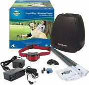 Petsafe Stay And Play Wireless Above Ground Electric Pet Fence For Stubborn Dogs