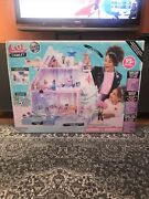 New Lol Surprise Winter Disco Chalet Doll House With 95+ Surprises Sealed