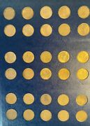 Complete 1909 To 1940 Lincoln Cent Set Except 1922 No D.