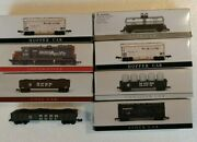Southern Pacific Miniature Railroad Cars By High Speed Metal Products