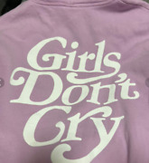 Golden Size Girls Don't Cry Purple Hoodie M Size