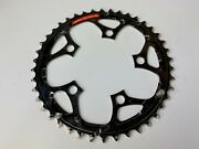 Vintage Shimano Chainring 42t 94mm Bcd 5arm Japan Ig Chain Only K42 Steel