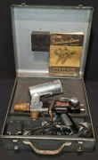 Metco Type 5p Metallizing Flame Spray Gun With Instruction Manual And Case