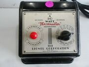 Lionel 90 Watt Type A Transformer Serviced And Tested. New Line Cordfront