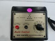 Lionel 80 Watt Type S Transformer Serviced And Tested. New Line Cordfront