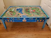 Thomas The Train Table Double Sided With Tracks In One Side