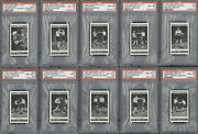 1935 Cope Bros. And Co. Boxing Lessons Complete Set 25/25 Psa 8 Avg