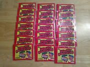 1982 Topps Wacky Packages Album Stickers 21 Unopened Packs Factory Sealed