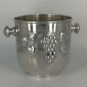 Ice Bucket In Silver From The Second Half Des 20. Century