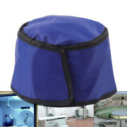 Radiation Protection Hat X-ray Ct Inspection Protective Cap Head Shield Blue New
