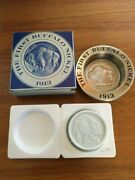 Avon The First Buffalo Nickel 1913 Soap Dish With Soap Nos Mint Condandnbsp
