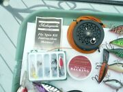 Pflueger Summit 1294 Fly Reelnever Been Fished +backing+lures+instruction Book