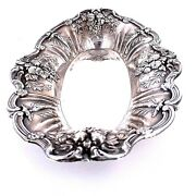 Reed And Barton Sterling Silver Francis I Bread Tray X568