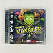 Muppet Monster Adventure Sony Playstation 1 2000 Complete