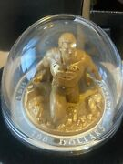 10 Oz. Pure Silver Gold Plated Coin - Last Son Of Krypton - Mintage 1000 2018