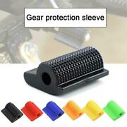 New Motorcycle Scooter Gear Shift Lever Sleeve Anti-slip Cover Guard 1pc F6p4