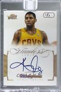 2015 Panini Replay Buyback 1/1 Kyrie Irving 12fli-8 Manufacturer Buy Back Auto