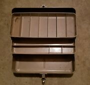 Vintage Usa Watertite Union Steel Chest Tackle Box