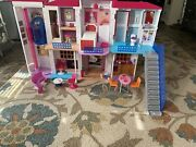 Barbie Doll Hello Dreamhouse Interactive And Extra Accessories Previously Used
