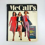 Vintage Mccalls Sewing Patterns School Counter Catalog Book Spring 1972