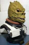 Star Wars Rare 2008 Sideshow 11 Scale Life-size Bossk Bust Limited 74 Of 250
