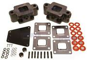 Riser Spacer Kit 3 Inch For Dry Joint Exhaust V6 V8 Replaces Mercruiser 864929a3