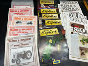 Ertl The Replica Collector Magazines And Miniature Tractor Implement Toy Magazines