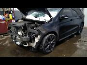 2015 Edge Left Driver Side Front Door Assembly Color Charcoal Uh
