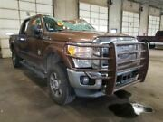 2012 F350sd Right Passenger Side Front Door Assembly Color Brown Vz