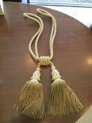 New Houles Drapery Tieback Tassels Discontinued And 30 Off Original Price