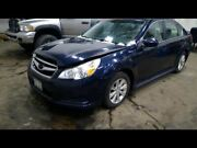2012 Legacy Left Driver Side Rear Door Assembly Color Navy G5u